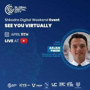 Arjan Ymeri oficina albania shkodra digital weekend