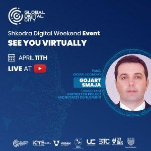 Gojart Smaja Konsulent per zhvillimin e projekteve dhe bizneseve Shkodra Digital Weekend