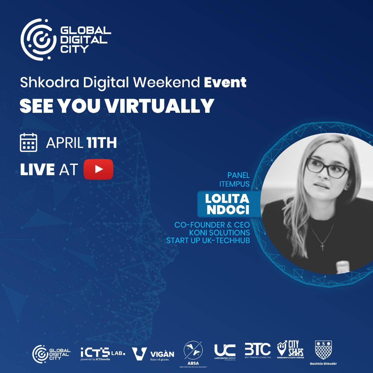 Lolita Ndoci Koni Solutions Shkodra Digital Weekend