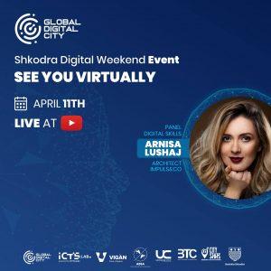 Arnisa Lushaj meter katrorarchitect impuls&co digital event Global Digital City
