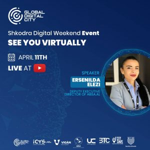 Ersenilda Elezi Albanian Business Service Association Digital Event Global Digital City