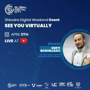 Gerti Boshnjaku – Folës në eventin Shkodra Digjital Weekend