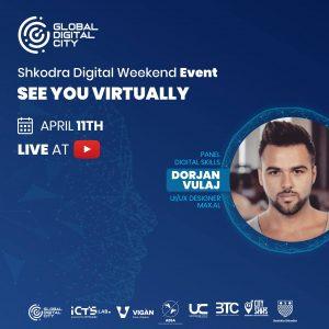 Dorjan Vulaj – Folës në eventin Shkodra Digjital Weekend