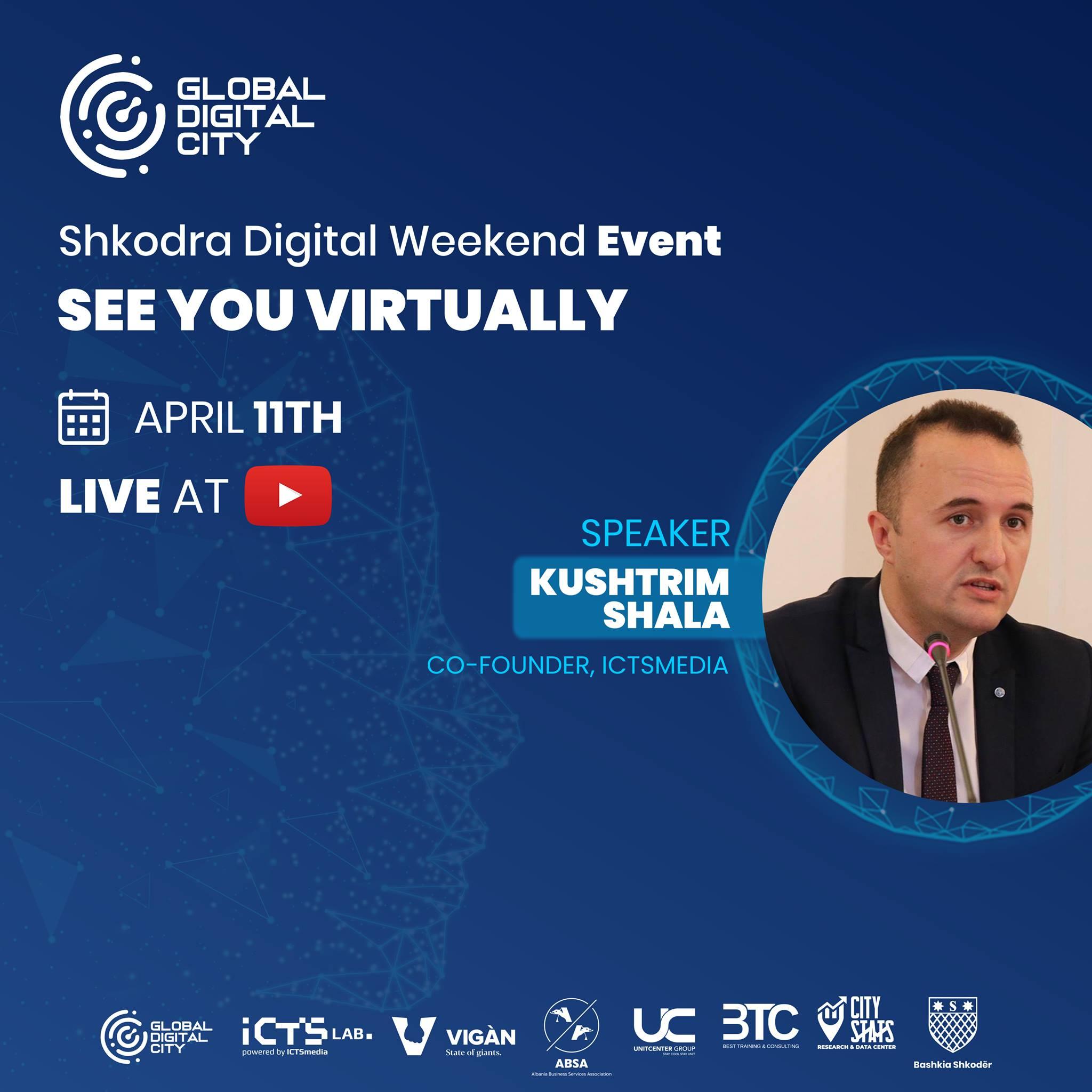 Kushtrim Shala – Folës në eventin Shkodra Digjital Weekend